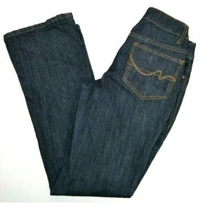 Faded Glory Boot Cut Blue Jeans Dark Wash